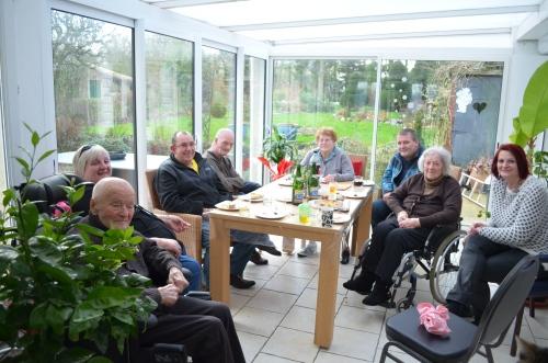 famille d'accueil , pas de calais , bécourt, personnes âgées