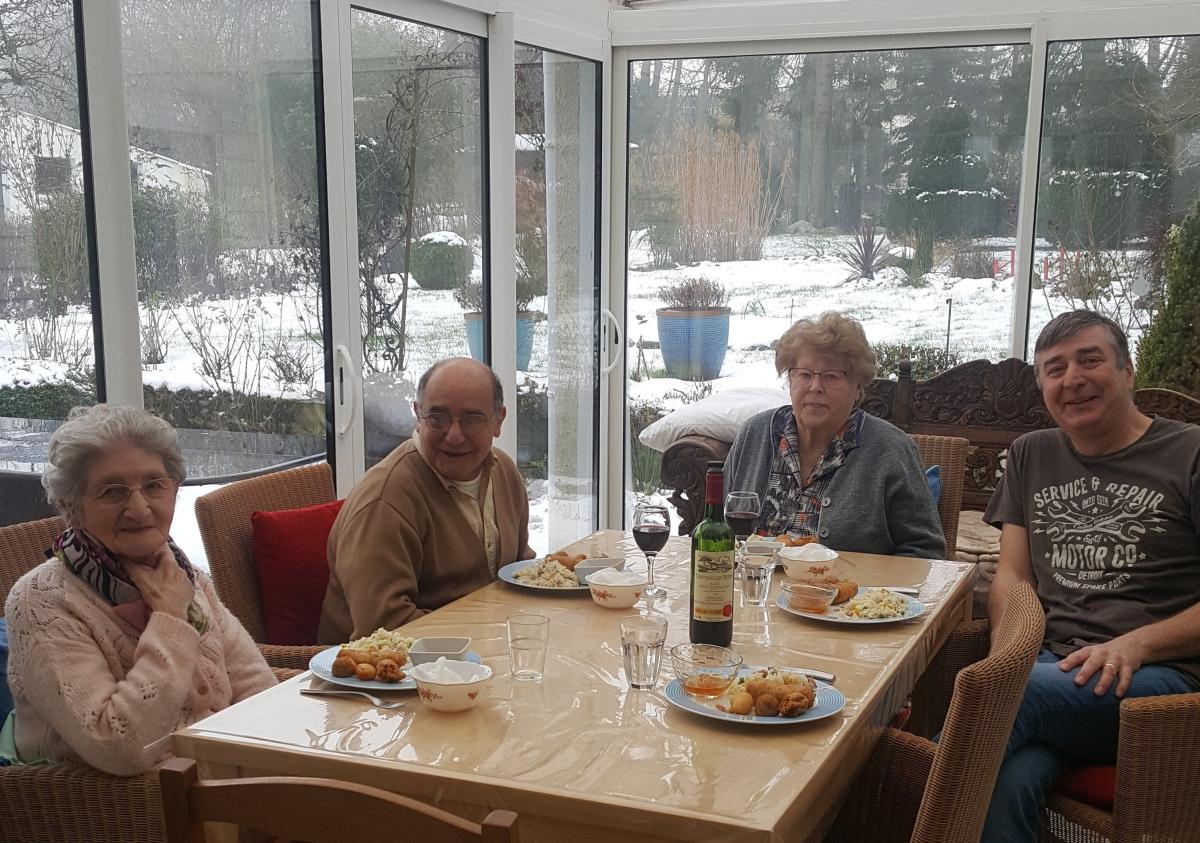 famille d'accueil , pas de calais , personnes âgées , bécourt